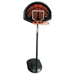 "Lifetime 32"" Polyethylene Portable Basketball Hoop"