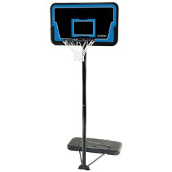 "Streamline 44"" Polyethylene Portable Basketball Hoop"