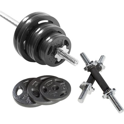 CAP Barbell 110 lb. Regular Grip Barbell Weight Set  65f3dda22335