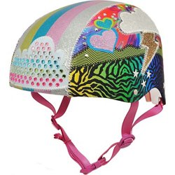 Raskullz Girls' Sparklez Loud Cloud Child Bicycle Helmet