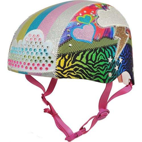 Raskullz Girls' Sparklez Loud Cloud Youth Bike Helmet