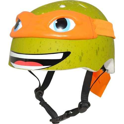 Bell Kids' Teenage Mutant Ninja Turtles Michelangelo Helmet