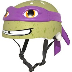 Raskullz Kids' Teenage Mutant Ninja Turtles Donatello Bicycle Helmet