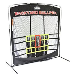 "JUGS Backyard Bullpen 84"" x 84"" x 48"" Baseball Set"
