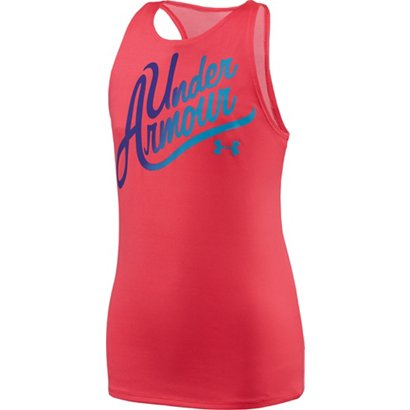 babb6948d282b ... Under Armour Girls  Aloha Wordmark Tank Top. Girls  Shirts   Tops.  Hover Click to enlarge