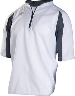 Adults' Short Sleeve Batting Cage Jacket