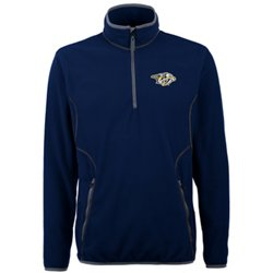Men's Nashville Predators Ice 1/4 Zip Pullover