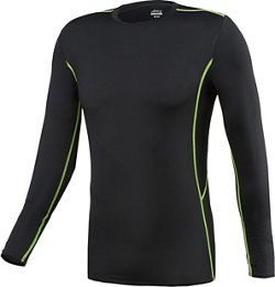 BCG Men's Long Sleeve Fitted Compression T-shirt