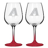 Boelter Brands Arizona Diamondbacks 12 oz. Wine Glasses 2-Pack