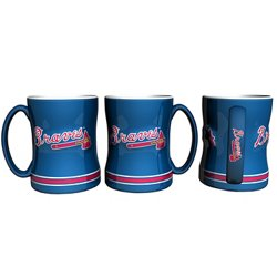 Boelter Brands Atlanta Braves 14 oz. Relief Coffee Mugs 2-Pack