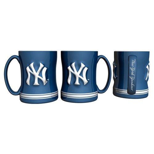 Boelter Brands New York Yankees 14 oz. Relief Coffee Mugs 2-Pack