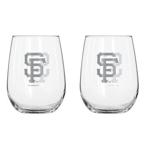 Boelter Brands San Francisco Giants 16 oz. Curved Beverage Glasses 2-Pack