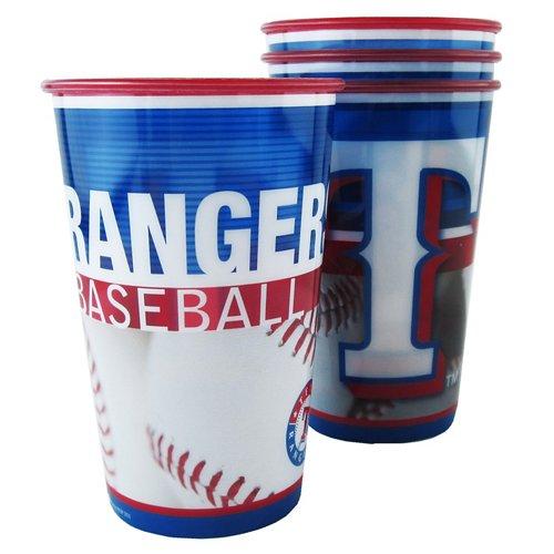 Boelter Brands Texas Rangers 20 oz. Souvenir Cups 8-Pack