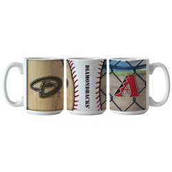 Boelter Brands Arizona Diamondbacks Ballpark Coffee Mugs 2-Pack