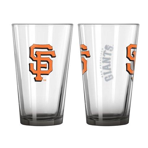 Boelter Brands San Francisco Giants Elite 16 oz. Pint Glasses 2-Pack