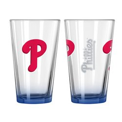 Boelter Brands Philadelphia Phillies Elite 16 oz. Pint Glasses 2-Pack
