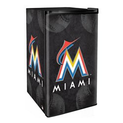 Boelter Brands Miami Marlins 3.2 cu. ft. Countertop Height Refrigerator