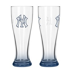 Boelter Brands New York Yankees Elite 16 oz. Pilsners 2-Pack