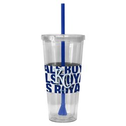 Boelter Brands Kansas City Royals Bold Neo Sleeve 22 oz. Straw Tumblers 2-Pack