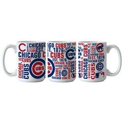 Boelter Brands Chicago Cubs Spirit 15 oz. Coffee Mugs 2-Pack