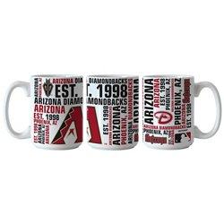 Boelter Brands Arizona Diamondbacks Spirit 15 oz. Coffee Mugs 2-Pack
