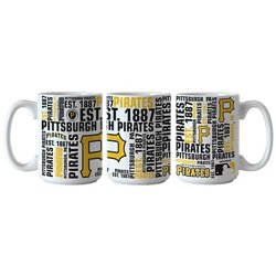 Boelter Brands Pittsburgh Pirates Spirit 15 oz. Coffee Mugs 2-Pack