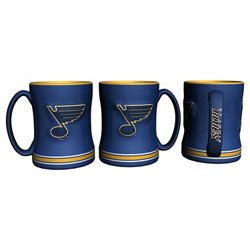 Boelter Brands St. Louis Blues 14 oz. Relief Mugs 2-Pack