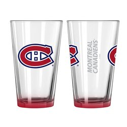 Boelter Brands Montreal Canadiens Elite 16 oz. Pint Glasses 2-Pack