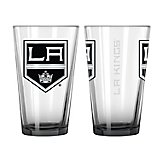 Boelter Brands Los Angeles Kings Elite 16 oz. Pint Glasses 2-Pack