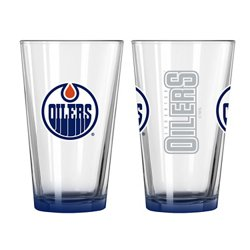 Edmonton Oilers Elite 16 oz. Pint Glasses 2-Pack