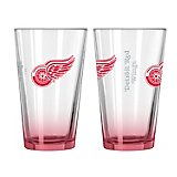 Boelter Brands Detroit Red Wings Elite 16 oz. Pint Glasses 2-Pack