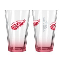 Detroit Red Wings Elite 16 oz. Pint Glasses 2-Pack