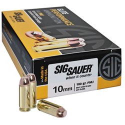 Elite Ball 10mm 180-Grain Centerfire Pistol Ammunition