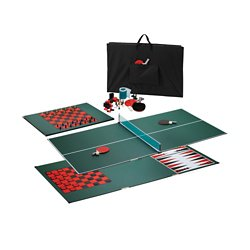 Portable 3-in-1 Multigame Table Tennis Top