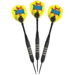 Comix 22-Gram Steel-Tip Darts 3-Pack