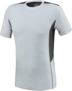 Men's Fitted Compression Short Sleeve Crew Neck T-shirt