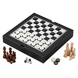 Wall Street 3-in-1 Game Set