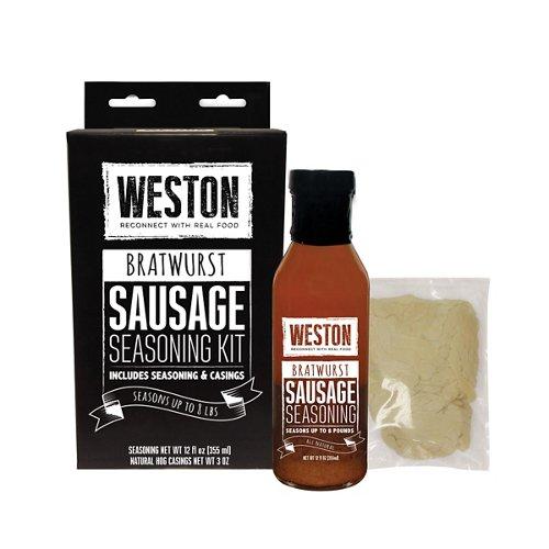 Weston Bratwurst Sausage Tonic Seasoning Kit