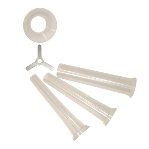 Weston Sausage Stuffing Funnel Set for Weston #5 Electric Meat Grinders