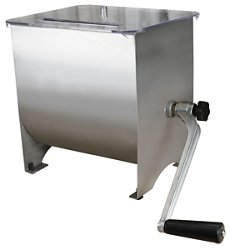 20 lb. Capacity Stainless-Steel Manual Meat Mixer