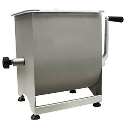 44 lb. Capacity Stainless-Steel Manual Meat Mixer