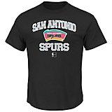 Majestic Men's San Antonio Spurs Hardwood Classics Heart and Soul T-shirt