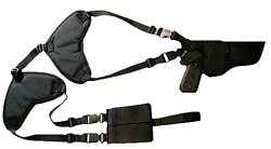 Bulldog Large-Frame Pistol Shoulder Holster System