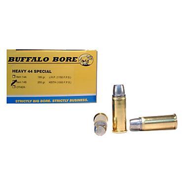 Buffalo Bore  44 Special 255-Grain Hard-Cast Keith Semi-Wadcutter  Centerfire Handgun Ammunition