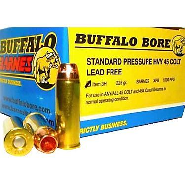 Buffalo Bore Lead-Free Standard Pressure Heavy  45 Colt LC 225-Grain  Centerfire Handgun Ammunition
