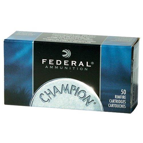 Federal Premium Champion Target .22 WMR 40-Grain FMJ Rimfire Ammunition