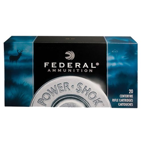 Federal Premium Power-Shok Centerfire Rifle Ammunition