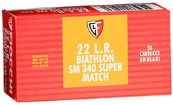 Super Match .22 LR 40-Grain Round Nose Rimfire Ammunition
