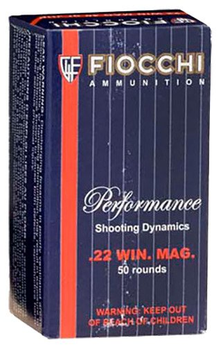 Fiocchi Extrema .22 Winchester Magnum Rimfire 40-Grain Jacketed Soft-Point Rimfire Ammunition - view number 1