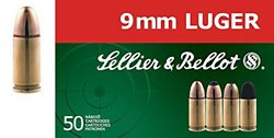 9mm Luger 140-Grain Full Metal Jacket Centerfire Handgun Ammunition